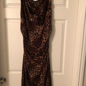 Ralph Lauren leopard print dress.